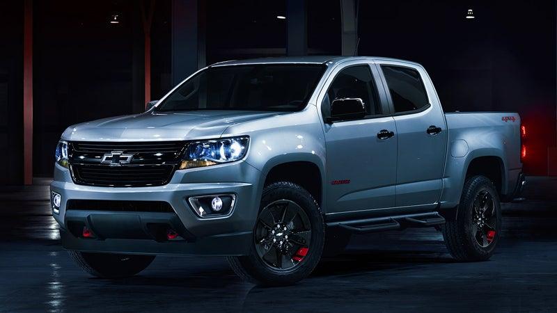 2018 Chevrolet Colorado Burien Wa Trim Levels Exterior