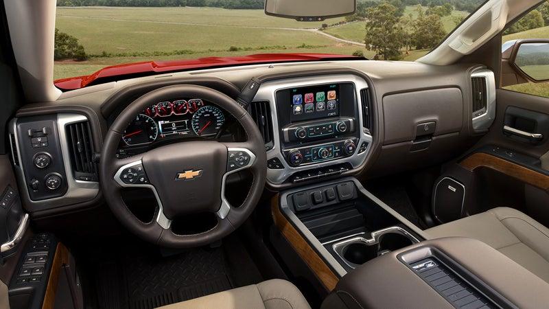 2018 Chevrolet Silverado 1500 Burien Wa Interior