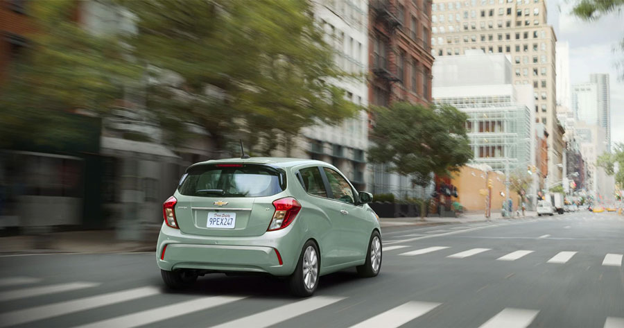 5 Things That Make the 2018 Chevy Spark the Perfect Urban Car