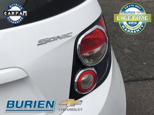 2014 Chevy Sonic Temperature Sensor Location
