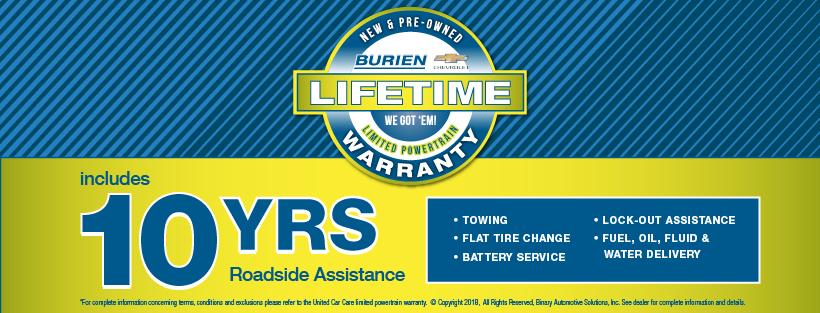 Burien Chevrolet Lifetime Warranty | Burien Chevrolet